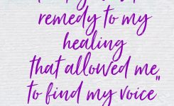 Poetry – The Healing Remedy To Trauma